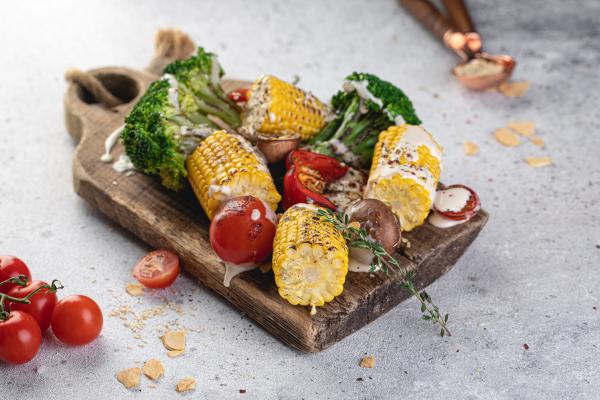 Овочі-гриль з тахіні